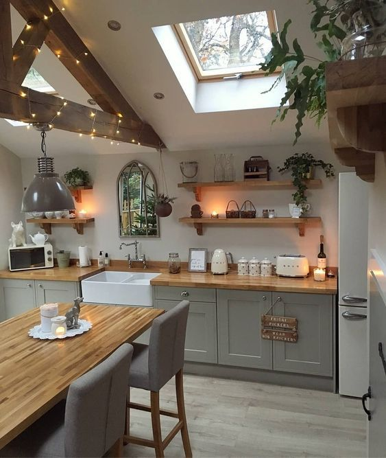 20 Best Modern Farmhouse Kitchens Decor Ideas (19)