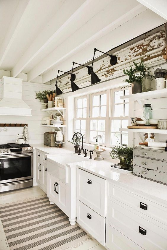 20 Best Modern Farmhouse Kitchens Decor Ideas (3)