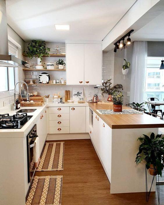 20 Best Modern Farmhouse Kitchens Decor Ideas (6)