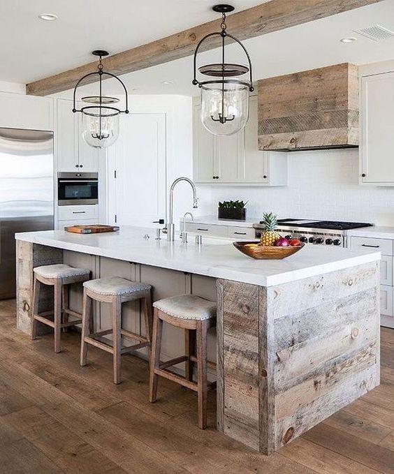 20 Best Modern Farmhouse Kitchens Decor Ideas (7)