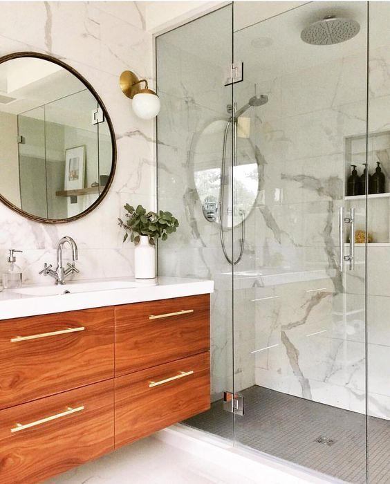 20 Best Small Farmhouse Bathroom Decor Ideas (12)