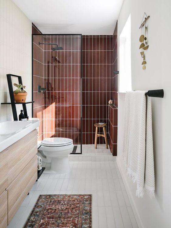 20 Best Small Farmhouse Bathroom Decor Ideas (17)