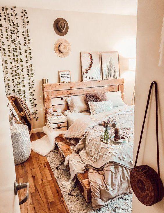 20 Best Small Farmhouse Bedroom Decor Ideas (1)