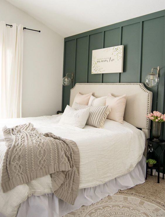 20 Best Small Farmhouse Bedroom Decor Ideas (20)