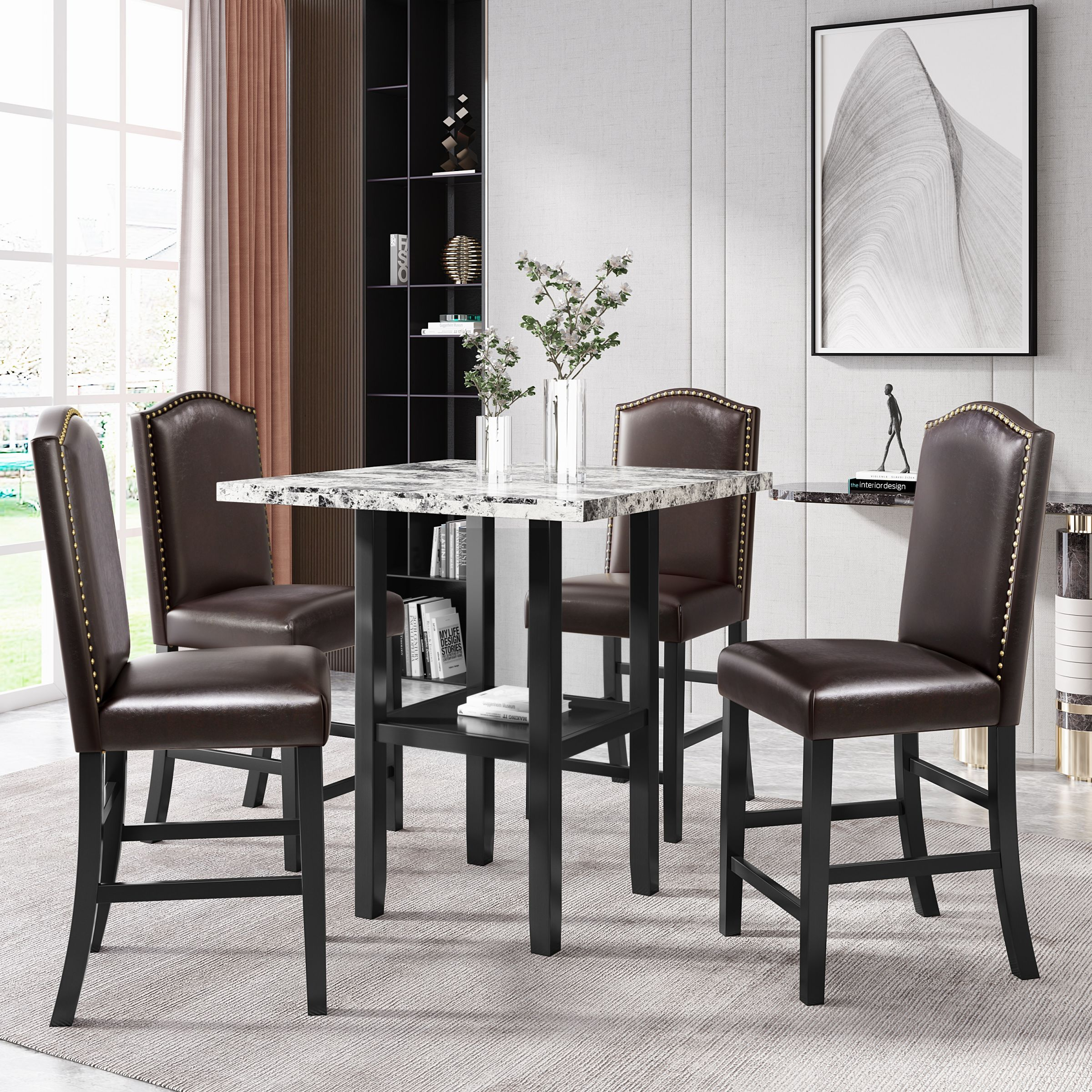 Awesome Kitchen Table And Chairs Heavy Duty