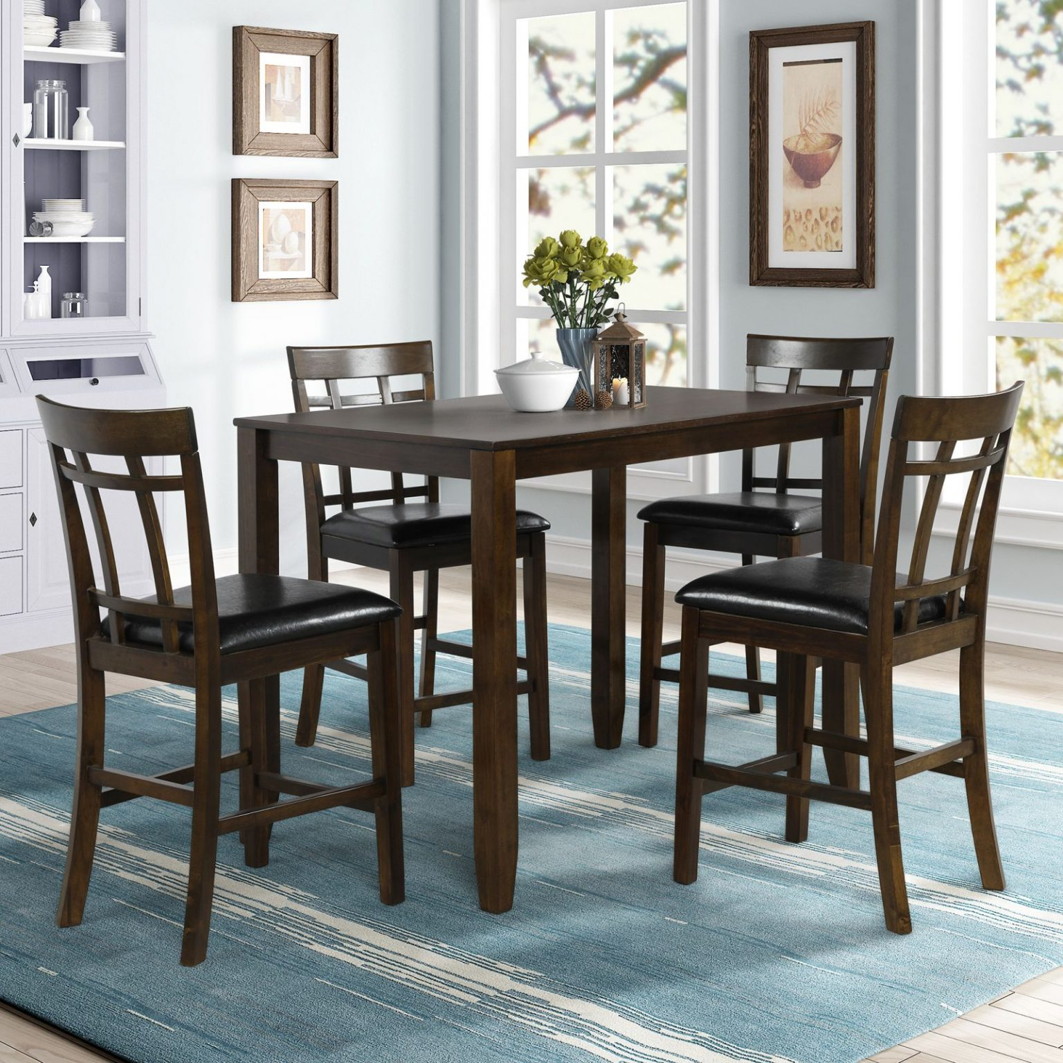 Gorgeous  Kitchen Table And Chairs Heavy Duty