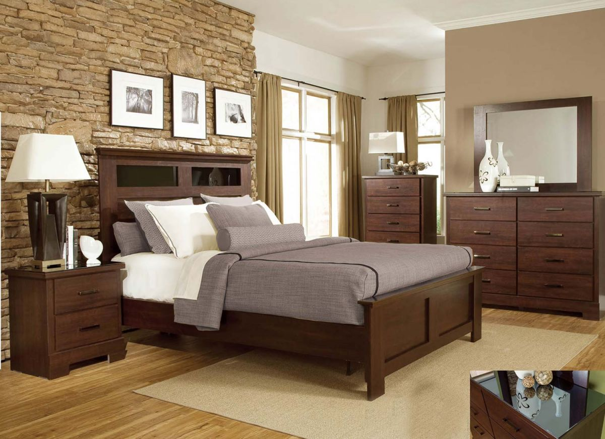 Cool Dark Wood Bedroom Furniture Ideas