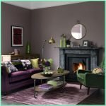 Awesome Purple Living Room Decor