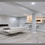 Beautiful Basement Floor And Wall Color Ideas