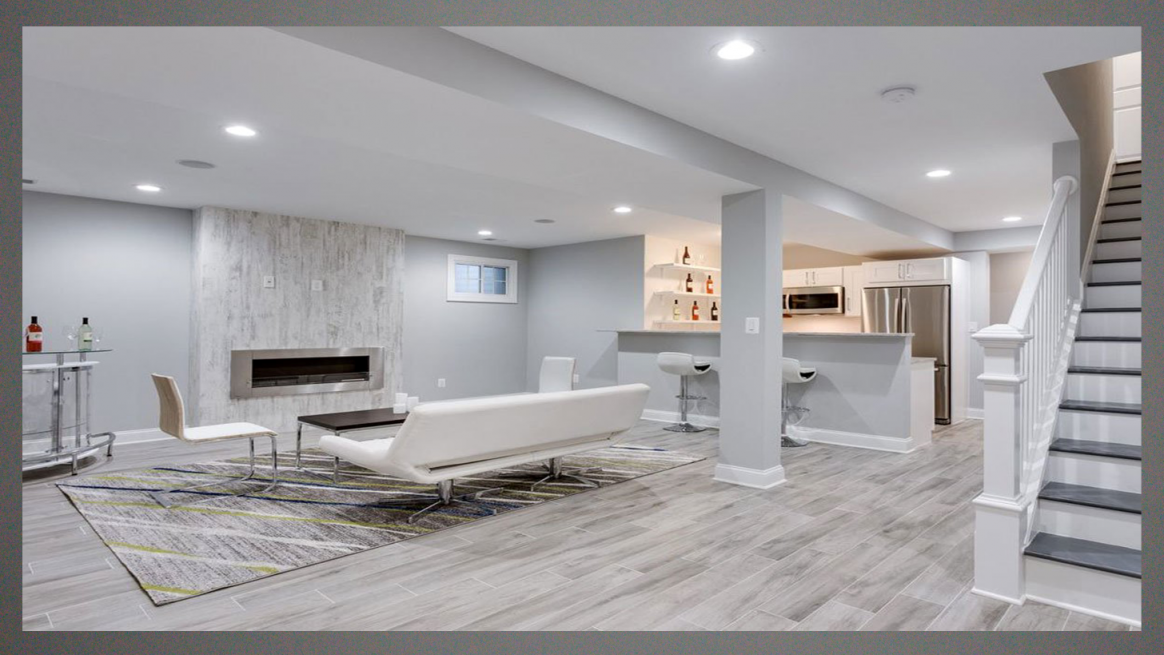 Amazing  Basement Floor And Wall Color Ideas