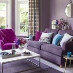 Beautiful Purple Living Room Decor