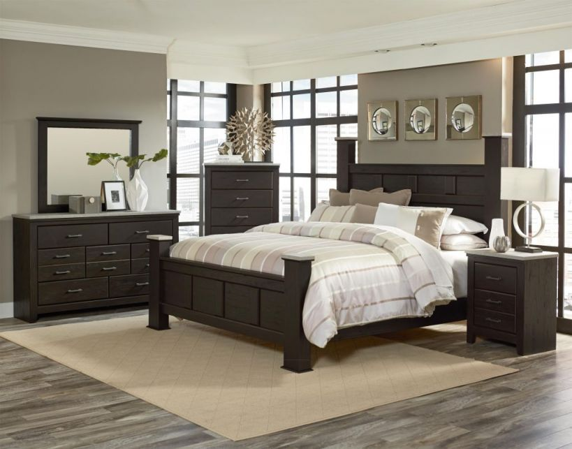 Adorable Dark Wood Bedroom Furniture Ideas