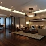 Fantastic Room Design With Wooden Floor
