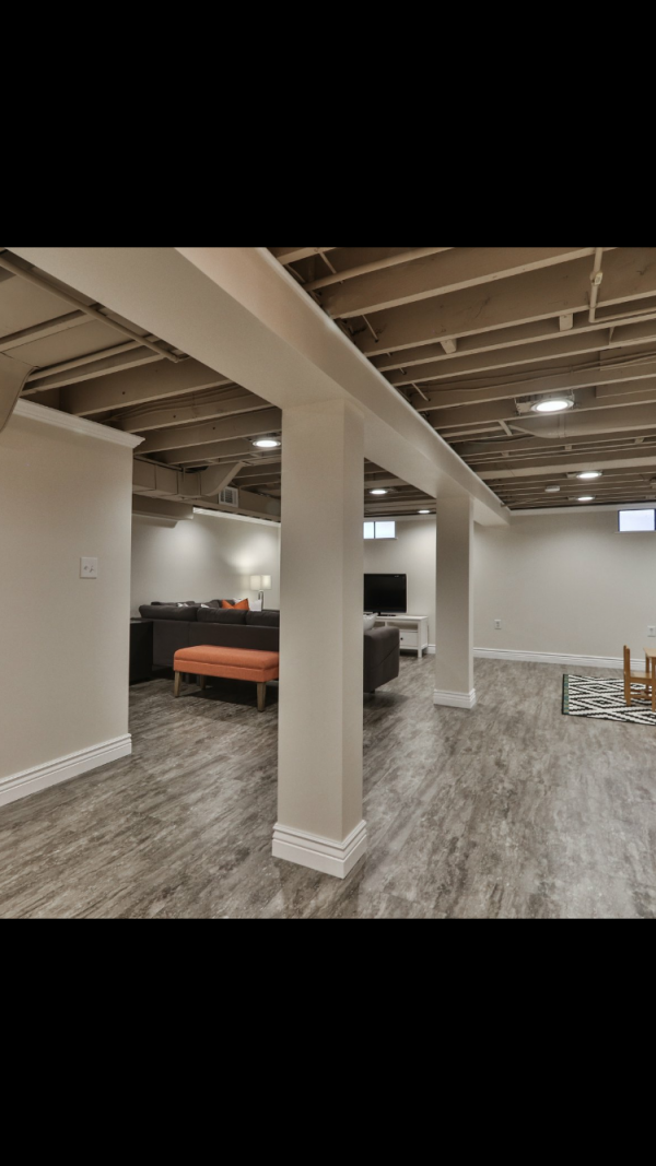 Wonderful  Basement Floor And Wall Color Ideas