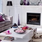 Gorgeous Purple Living Room Decor