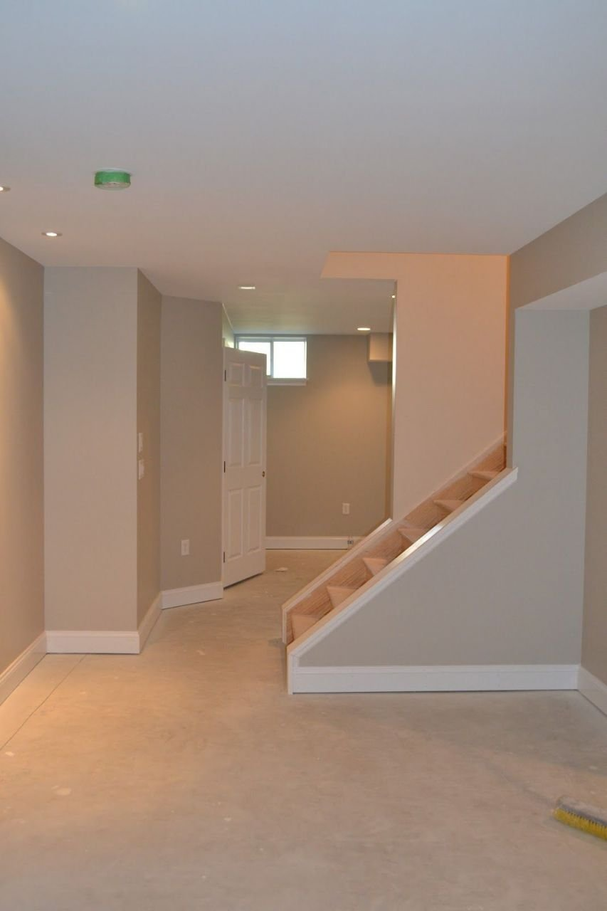 Adorable Basement Floor And Wall Color Ideas