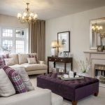 Nice Purple Living Room Decor