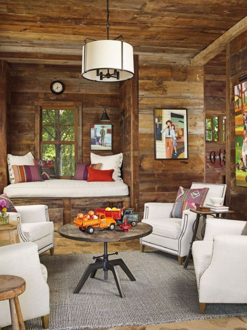 Amazing Rustic Living Room Interior Design