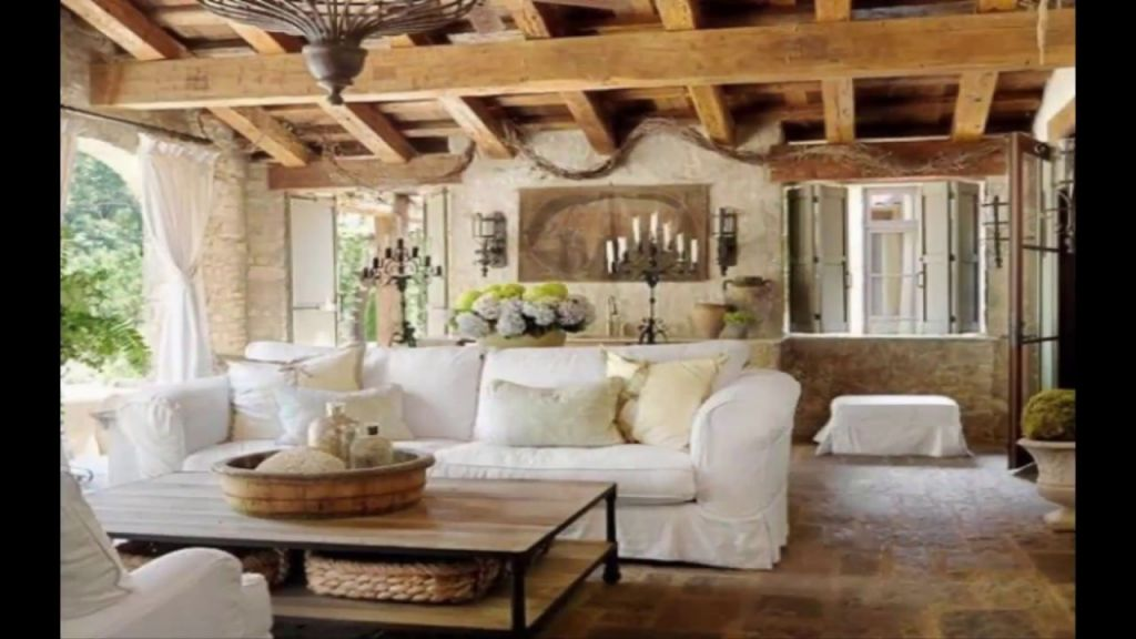 Fantastic Rustic Living Room Interior Design
