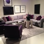 Wonderful Purple Living Room Decor